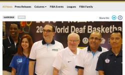 FIBA: Endress positive about Deaf International Basketball Federation future