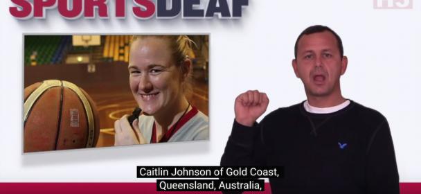 High achiever – Deaf Referee Caitlin Johnson