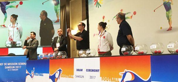 2017 Summer Deaflympics Basketball Draw Ceremony