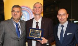 DIBF Referee Antonios Koutsoumaris honored