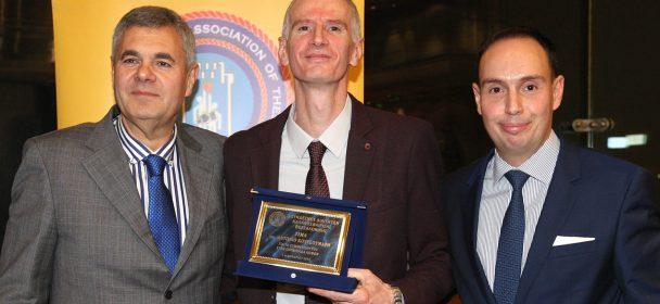 DIBF Referee Antonios Koutsoumaris honored