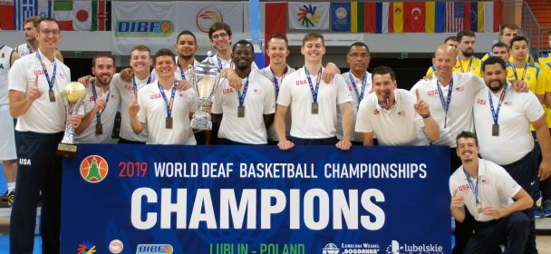 2019 World Deaf Basketball Championships in Poland